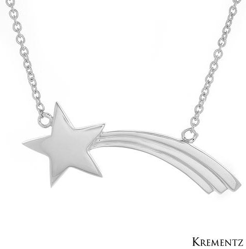 Krementz 925 sterling silver pendant necklace 5 different pendant krementz 925 sterling silver shooting star pendant adjustable necklace 1203375 aloadofball Choice Image
