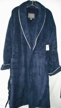 Saks fifth avenue men 39 s turkish cotton terry robe for Saks 5th avenue robes de mariage