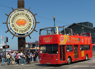 Sightseeing Tour P Double Decker Bus