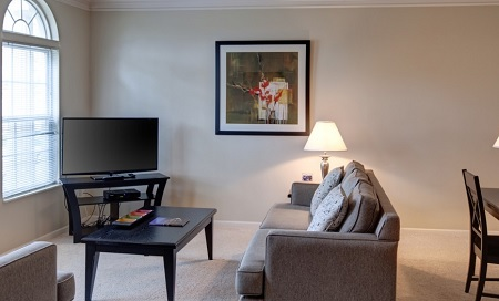 1 Bedroom Serviced Apartment At Easton Commons In Columbus Ohio