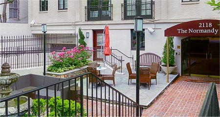 Normandy hotel boutique hotel in washington d c for Boutique hotel normandie