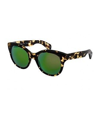 e38673cbb9 Oliver Peoples Jacey OV5234S Sun Havana Green Mirror Polarized Sunglasses
