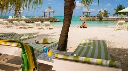 Sea Garden Beach Resort in Montego Bay Jamaica