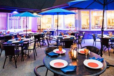 Blu 1681 waterfront cuisine bid win save on for Decor rent event woodbridge va