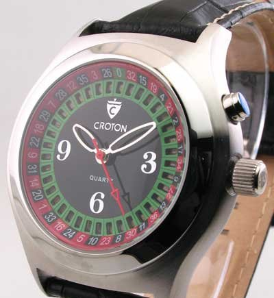 Croton roulette wheel watch play ok