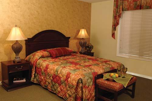 bedroom suite at williamburg plantation in williamsburg virginia