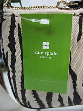 30b5f2b50cea Chocolate Leather Strap and Kate Spade Signature Logo in Chocolate Leather  on front - Brand New with tags - Includes authentic Kate Spade duster bag