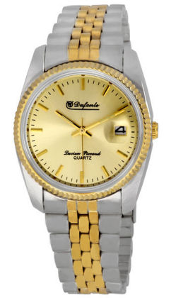 lucien piccard mens gold watches best watchess 2017 dufonte by lucien piccard mens clic two tone stainless steel