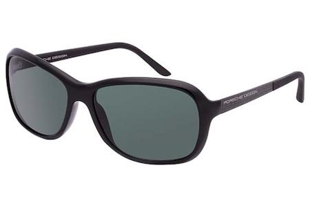 c09fa9df1cb7 Porsche Design P 8558 A-130 Matte Black and Green Sunglasses