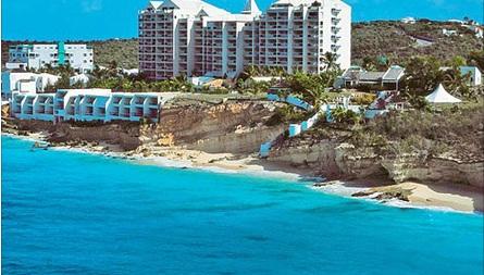 Sapphire Beach Club In Cupecoy Beach St Maarten Bid On A  Night Stay In A Studio Or  Bedroom Suite