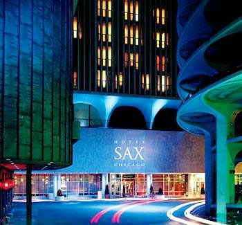 Luxury downtown chicago hotel sax a thompson hotel for Best hotels in downtown chicago