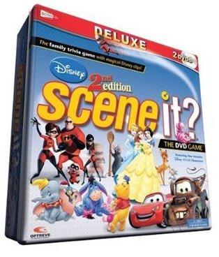 Scene It Seinfeld Movie 2nd Edition Disney Channel Or Disney 2nd Edition Deluxe Edition Dvd Game