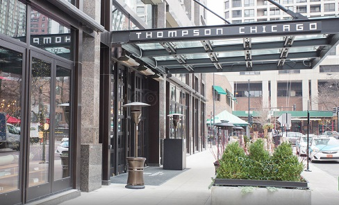 Thompson chicago the magnificent mile lake michigan for Thompson hotel chicago