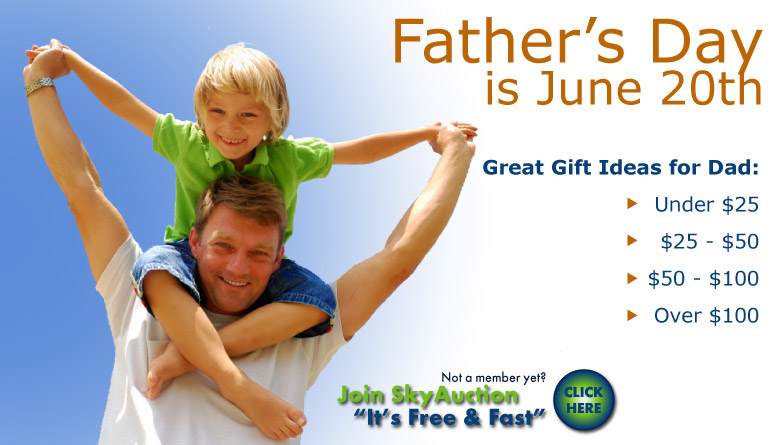 Father's Day Specials - Gift Ideas for Dad